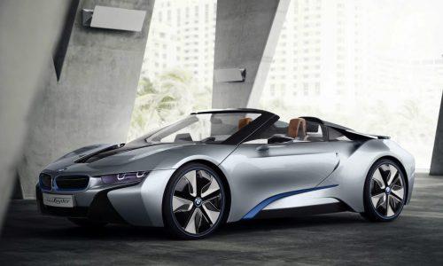 BMW i8 production car set for Frankfurt debut