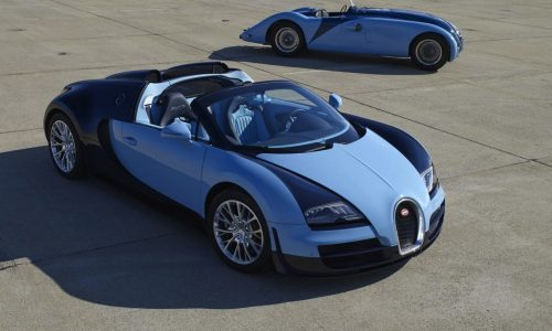 Bugatti Veyron GS Vitesse 'Jean-Pierre Wimille Legend Edition' unveiled