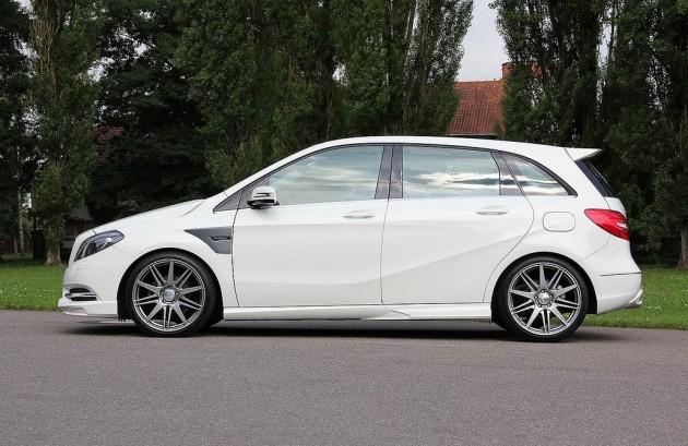 Carlsson Mercedes-Benz B-Class lowered