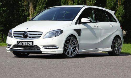 Carlsson Mercedes-Benz B-Class upgrade package announced