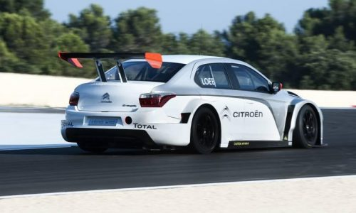 Video: Citroen C-Elysee WTCC car hits the track with Loeb