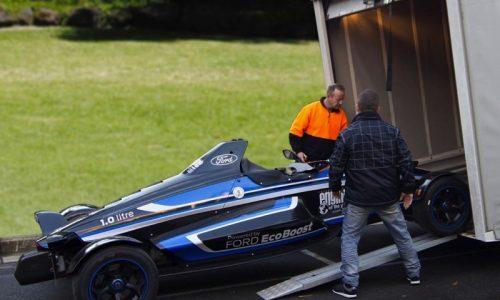 Formula Ford EcoBoost racer lands in Australia