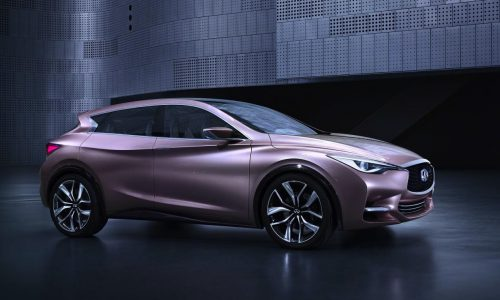 Infiniti Q30 Concept revealed, previews future compact crossover