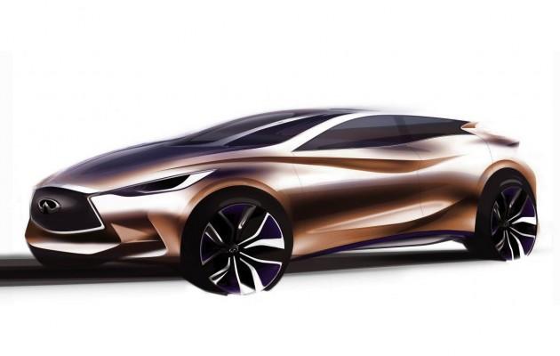 Infiniti Q30 Concept preview