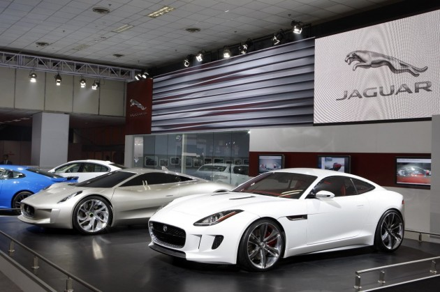 Jaguar C-X16 and C-X75 concepts