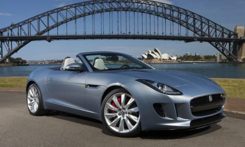 Jaguar F-Type now on sale in Australia