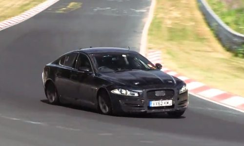 Video: Jaguar 'XS' prototype spotted; new compact sedan