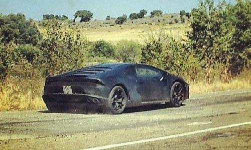 Lamborghini 'Cabrera' (Gallardo successor) spied
