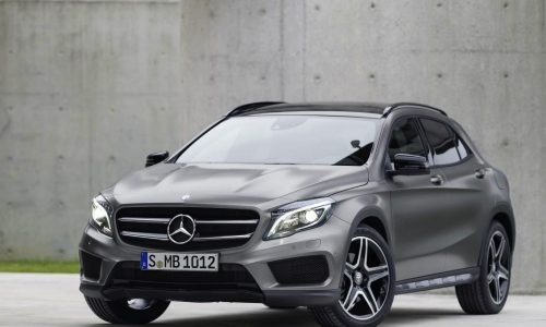 Mercedes-Benz GLA revealed, arriving early 2014
