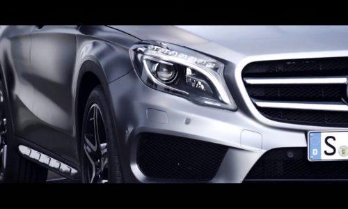 Video: Mercedes-Benz GLA previewed before Frankfurt debut