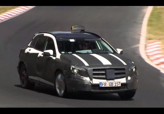 Mercedes-Benz GLA-Class prototype