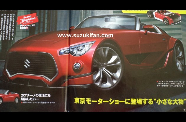 New Suzuki Cappuccino render