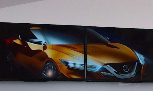 Nissan sedan concept to debut at Detroit show, 2015 Maxima?