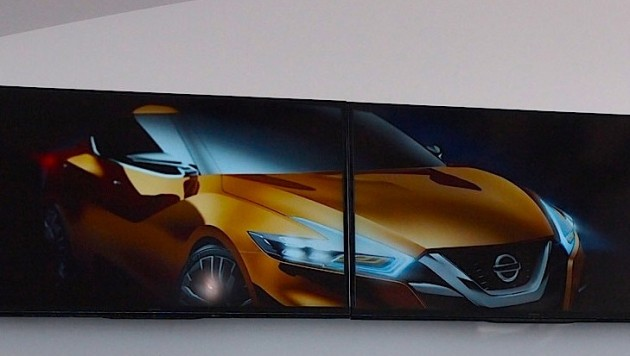 Nissan sedan concept 2014 Detroit show preview