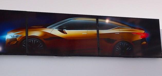 Nissan sedan concept 2014 Detroit show preview-side