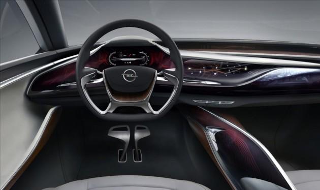 Opel Monza Concept dash