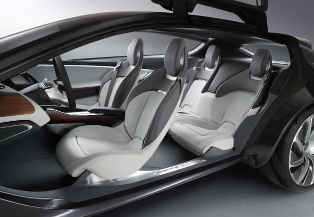 Opel Monza Concept seats