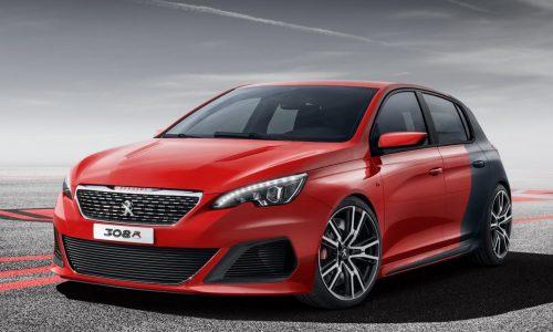 Peugeot 308 R Concept revealed, gets RCZ R engine