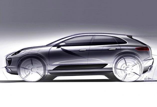 Porsche-Macan-sketch