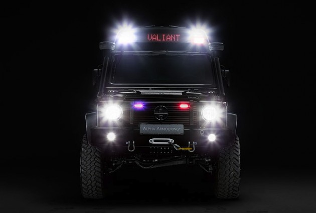 Project Valiant Mercedes-Benz G 63 AMG lights