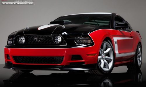 Saleen George Follmer Edition Mustang debuts at Laguna Seca