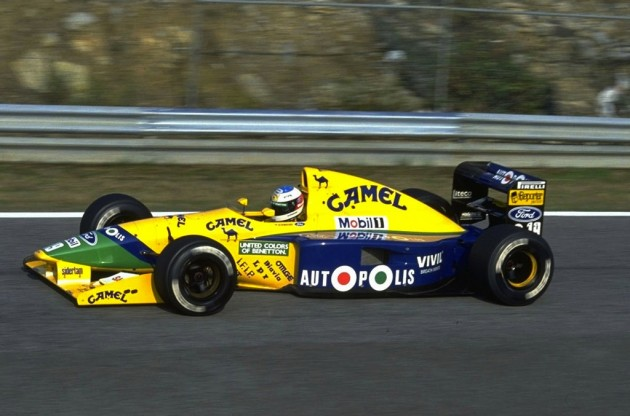 Schumacher F1 Benetton B191