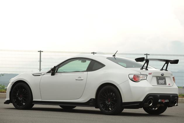 Subaru BRZ STI-rear