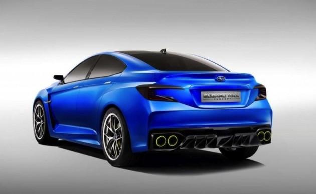 Subaru WRX Concept rear