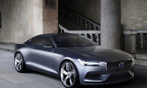 Volvo Concept Coupe revealed, areas inspried by P1800
