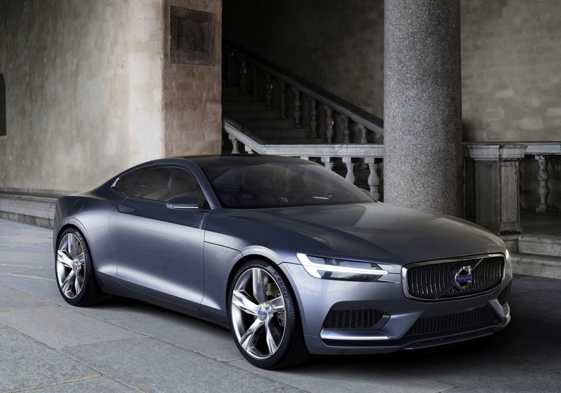 Volvo Concept Coupe Revealed Areas Inspried By P1800