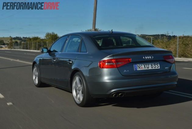 2013 Audi A4 Sport Edition back