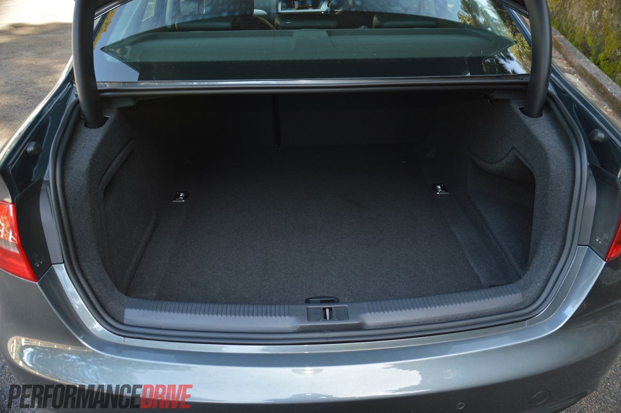 2013 Audi A4 Sport Edition Boot Space