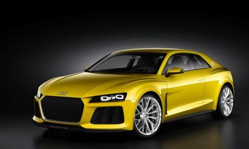 2013 Audi Sport Quattro concept revealed, 500kW-plus hybrid V8