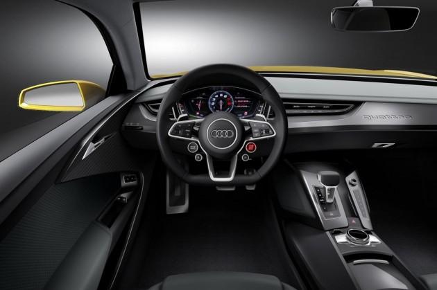 2013 Audi Sport Quattro concept-interior