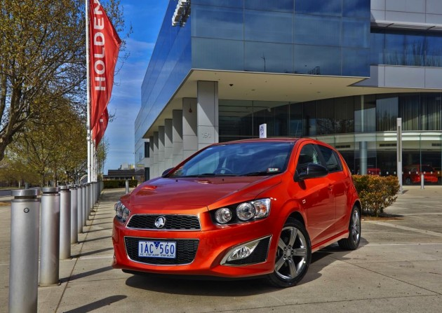 2013 Holden Barina RS-Orange Rock