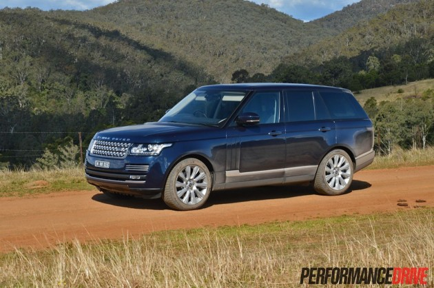 2013 Range Rover Vogue SE lowered suspension