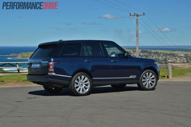 2013 Range Rover Vogue SE rear