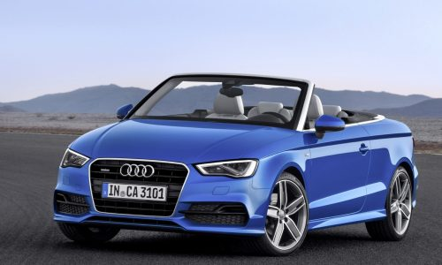 2014 Audi A3 Cabriolet revealed, 221kW S3 Cabrio coming
