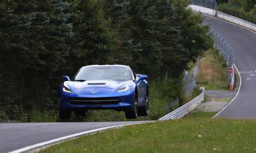 Chevrolet Corvette Stingray hits the Nurburgring before Euro debut