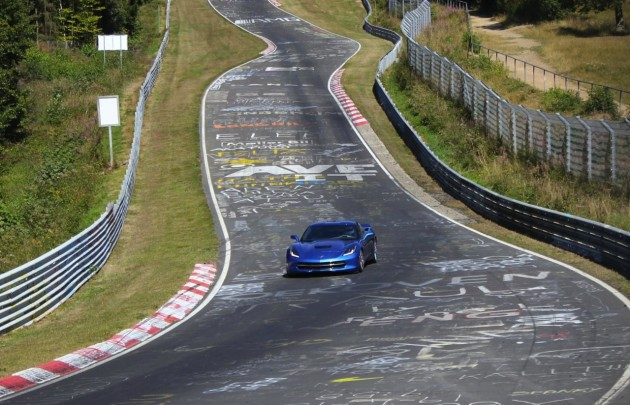 2014 Chevrolet Corvette Stingray on Nurburgring