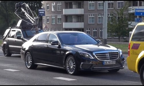 Video: 2014 Mercedes-Benz S 65 AMG revealed during photo shoot