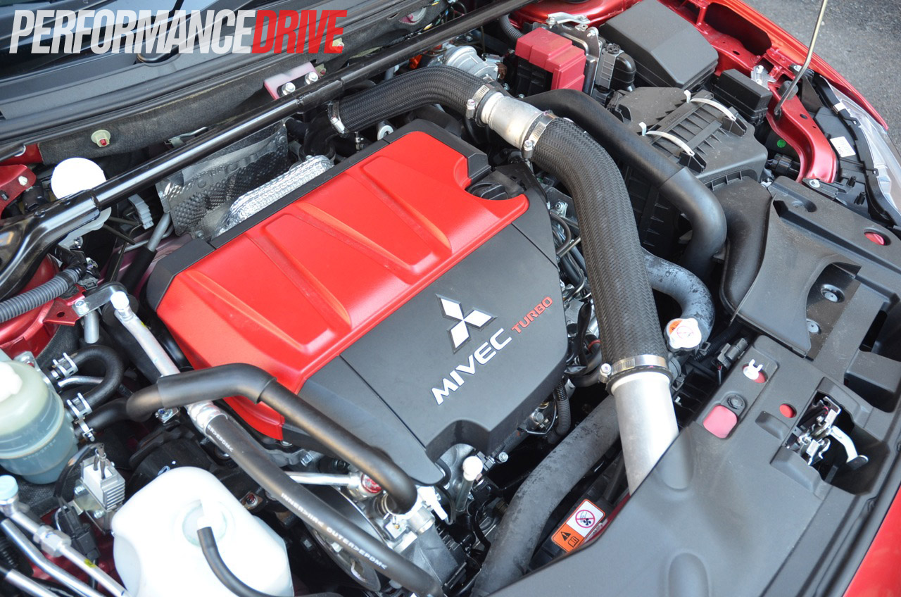 Mitsubishi Eclipse 2015 >> 2014 Mitsubishi Lancer Evolution X MR review (video) | PerformanceDrive