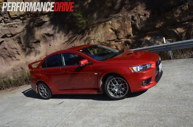 2014 Mitsubishi Lancer Evolution X MR Australia