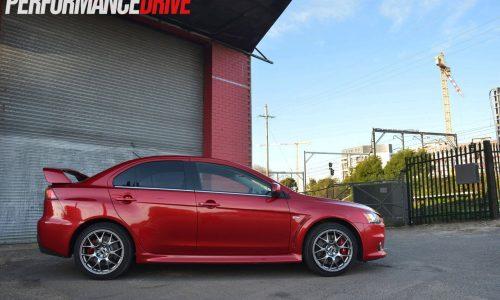 2014 Mitsubishi Lancer Evolution X MR review (video)
