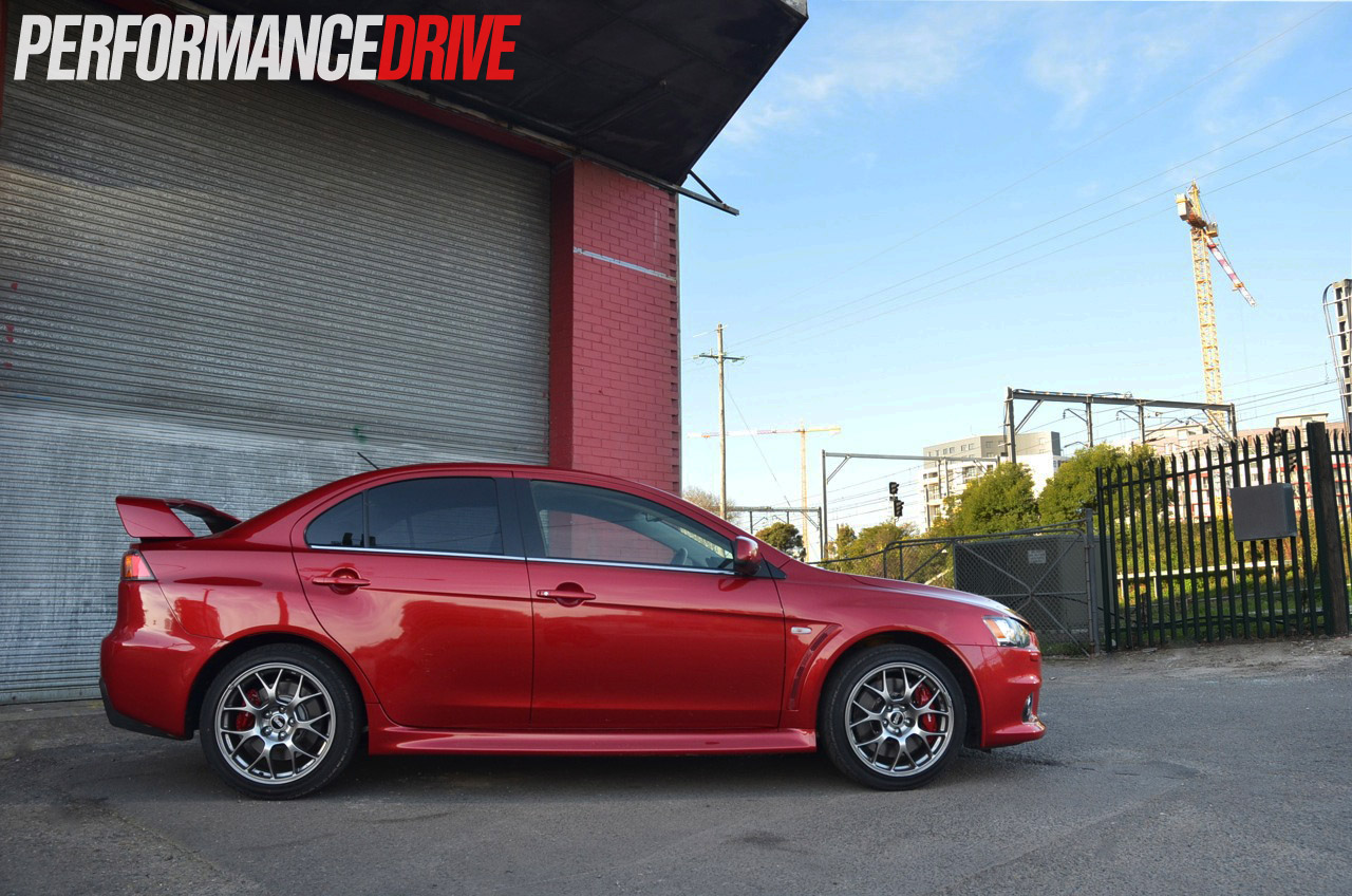 2014 Mitsubishi Lancer Evolution X MR PerformanceDrive