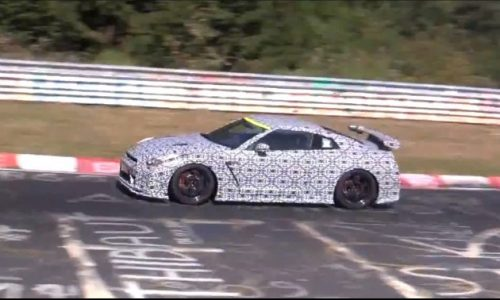 Video: 2014 Nismo Nissan GT-R prototype attacks the Nurburgring