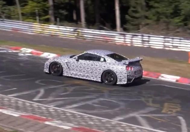 2014 Nismo Nissan GT-R rear spoiler