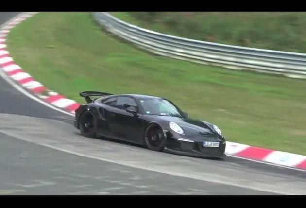 2014 Porsche 911 GT2 prototype