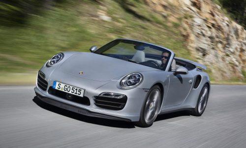 2014 Porsche 911 Turbo & Turbo S Cabriolet revealed