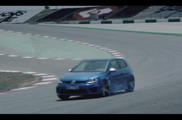 2014 Volkswagen Golf R Mk7 promo